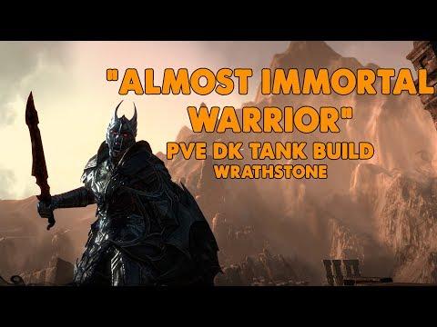 ESO - Almost Immortal Warrior - PVE Dragonknight Tank Build - (Wrathstone)