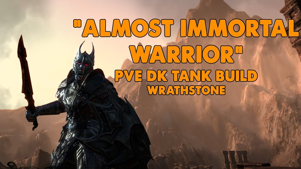 ESO - Almost Immortal Warrior - PVE Dragonknight Tank Build - (Wrathstone)