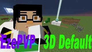 Minecraft PVP Texture Pack/Resource Pack - 3D Blocks/Non-3D/Custom Items