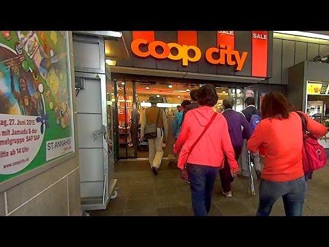 瑞士蘇黎世班霍夫大街COOP CITY商場 Zurich (Switzerland)