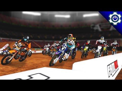 MX Simulator - 2017 MotoOption SX Round 8 Livestream - Atlanta