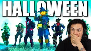 Apex Legends Fight or Fright Halloween Event Trailer Reaction!