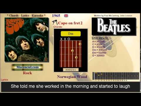 The Beatles - Norwegian Wood #0306 - YouTube