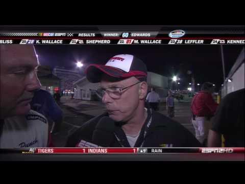 2010 NASCAR Nationwide Race Gateway Bob Keselowski Interview
