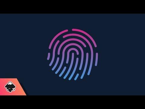 Inkscape Tutorial: Vector Fingerprint Logo