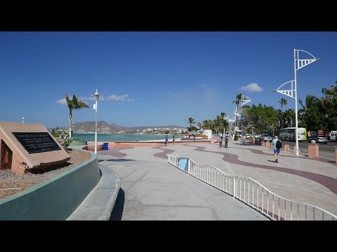 La Paz Mexico Tour of Malecon & Streets (HD)