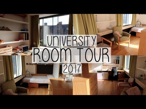 UNIVERSITY ROOM TOUR 2017 | THE BEST STUDENT ACCOMMODATION | HOLLY GABRIELLE
