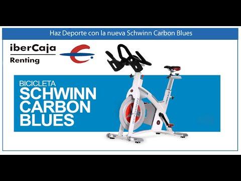 Bicicleta Spinning AC Plus Carbon Blue.Cuota Renting  84 € *Ibercaja Leasing