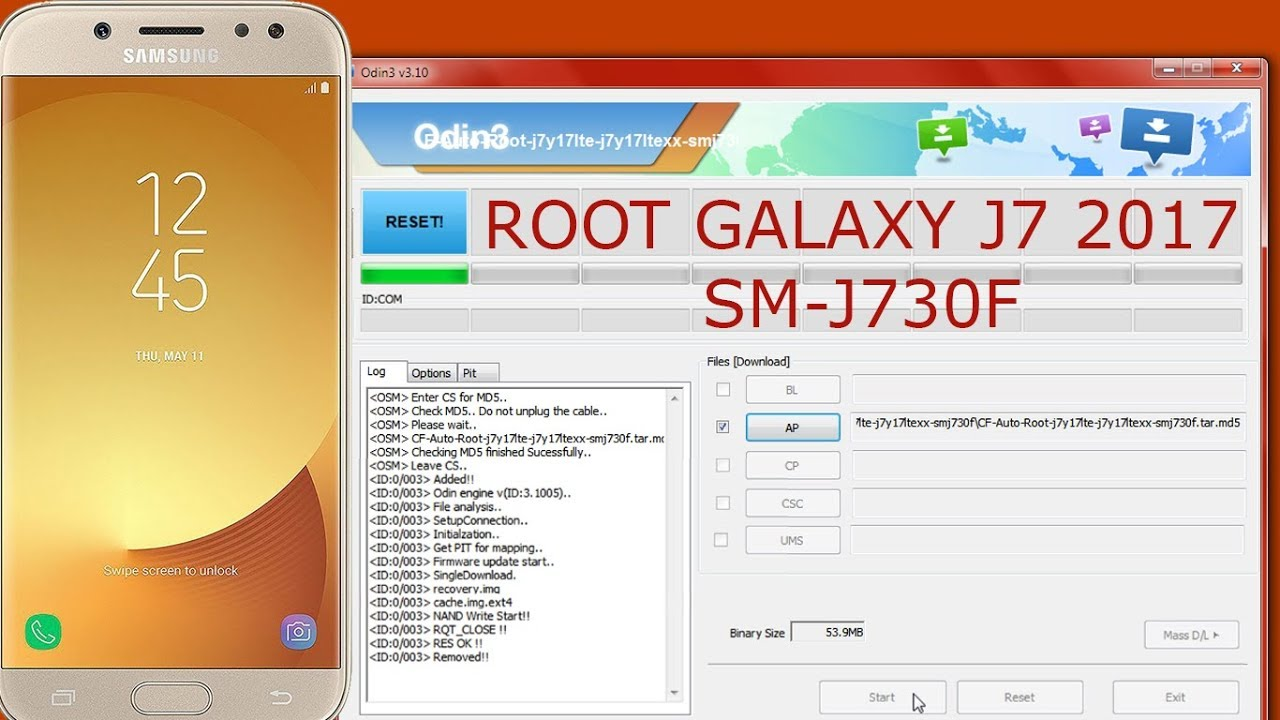 Root Samsung Galaxy J7 2017 SM-J730F | Root SM-J730F Easily