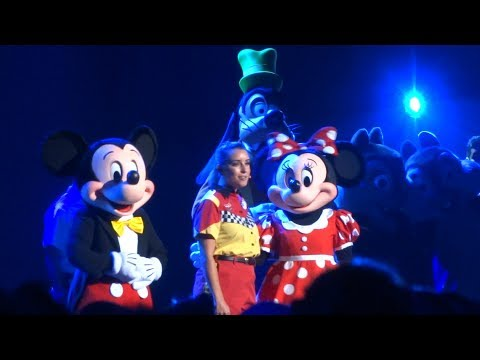 Disney Parks musical tribute performances during Parks and Resorts presentation - D23 Expo 2017