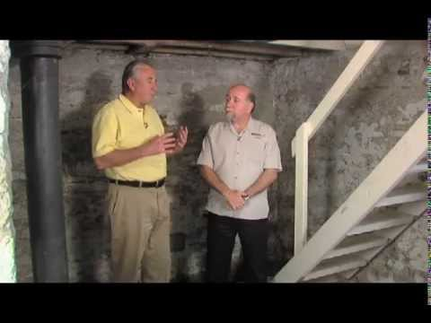 How to tackle a leaky basement in a home over 100 years for Old house foundation types