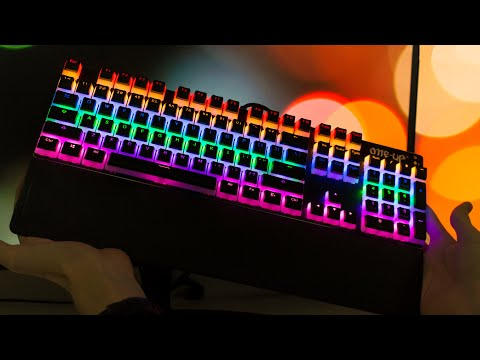 Make the most of your RGB keyboard with translucent keycaps