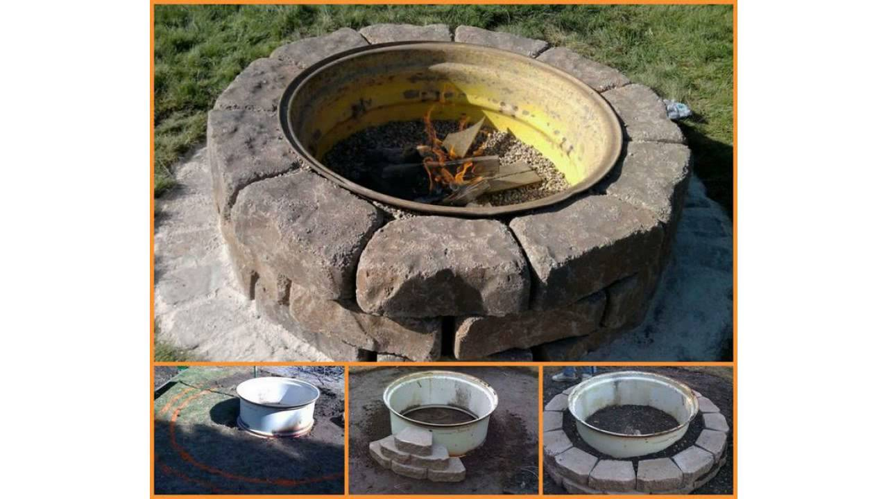 Backyard Landscaping Ideas With Fire Pit diy fire pit ideas our camping adventure begins Backyard Landscaping Design Ideas Fresh Modern And Rustic Fire Pit Design Ideas Youtube