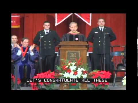 Miami University Fall Commencement 2014