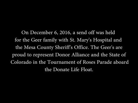 Kate Geer  2017 Rose Parade Float Rider