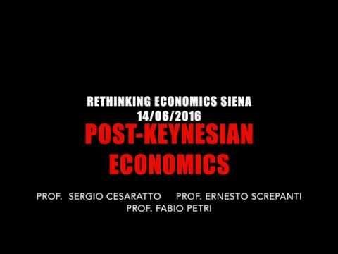 Post Keynesian Economics