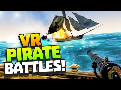 SEA OF THIEVES IN VR! - Furious Seas Gameplay - VR HTC Vive Pro Gameplay
