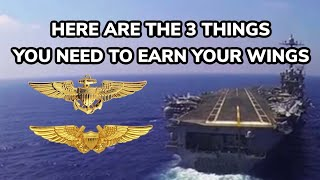 Here Are the 3 Things You Need to Earn Your Wings
