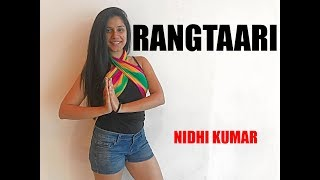 Rangtaari Video | Loveratri | Bollywood Dance Choreography | Nidhi Kumar
