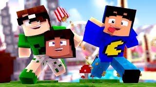 Jogando 1 HORA de Minecraft! (melhores mini-games)