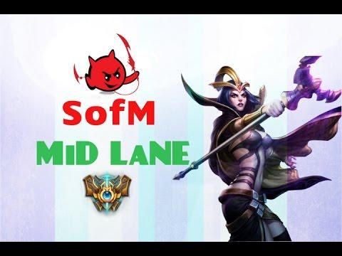 GFL SofM dùng LeBlanc đường giữa đối đầu Ahri