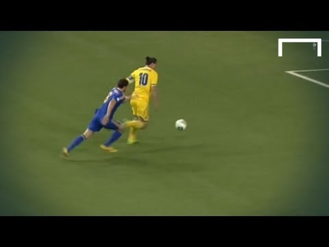 Ibrahimovic scores in under 30 seconds - Kazakhstan v Sweden