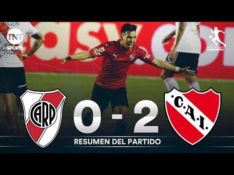 Resumen de River Plate vs Independiente (0-2) | Fecha 5 Grupo A - Fase Campeón Copa Maradona