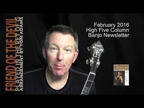 Friend of the Devil: Banjo Backup + Break by Tom Adams