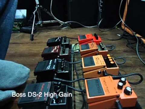 Boss Distortion Pedals Demo at Bhargavas Music