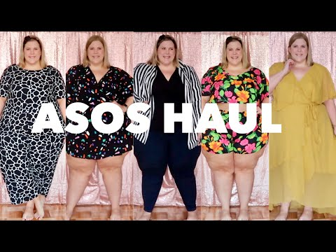 Plus Size Asos Haul:  Now with sequin backdrop and lots of terrible improv-ed songs