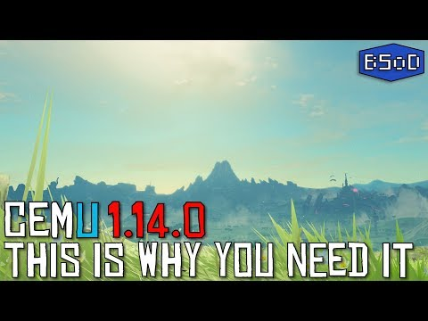 This is why you need Cemu 1.14.0 | Performance Comparison