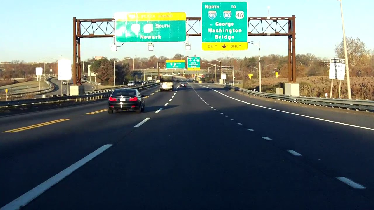 New Jersey Turnpike (Exit 16E) southbound/outbound [ALTERNATE TAKE]