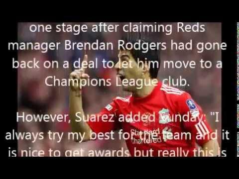 Suarez wins PFA Player of the Year award