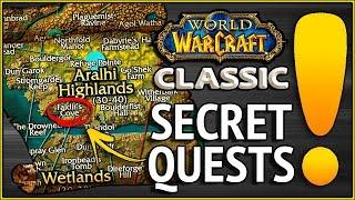 3 Vanilla Secret Quests - Classic WoW