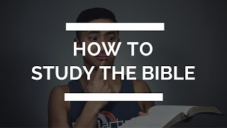 How to Study the Bible For Yourself   3 Key Tips on Effective Bible Study   Christian Youtubers