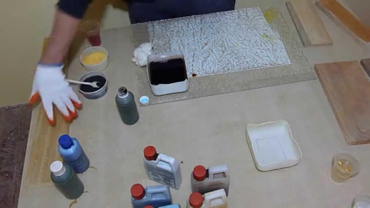Cambiar El Color Madera Teido De Madera  YouTube