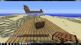 Présentation du mod Zeppelin-Minecraft