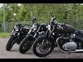 HD Forty-Eight  vs Indian Scout vs Triumph Bobber
