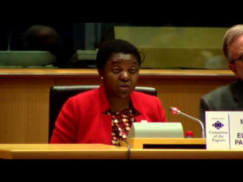 Kashetu Kyenge - 115th plenary session - European Committee of the Regions