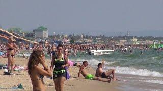 Витязево Пляж набережная Поездка на море 1 Августа 2014(Отдых в Витязево - об этом мечтает каждый. Но, где же находится это таинственное место? Этот поистине райский..., 2016-03-20T21:14:09.000Z)