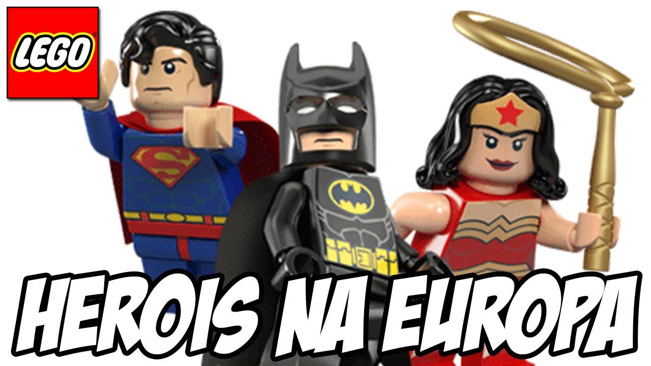 Lego Batman 3 Batman Superman E Mulher Maravilha Na Europa