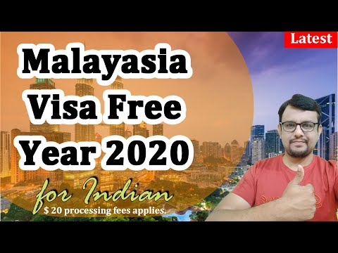 Malaysia Visa Free For Indian | Year 2020 | Visa Free Entry To Malaysia