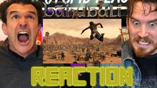Bahubali: The Beginning War Scene Reaction!!