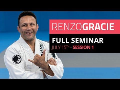 Renzo Gracie Live Seminar in Rio de Janeiro -- Session I