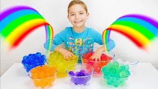 Learn Colors With Orbeez for Children  - Apprendre les Couleurs avec des Orbeez Géants !