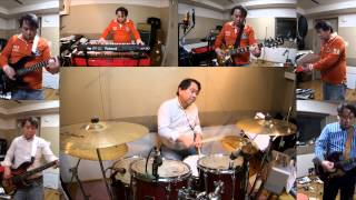 201402 Night Fever Drum Cover (making karaoke)