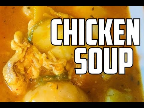 Weekend Chicken Soup Recipe By Chef Ricardo Cooking Happy Sunday