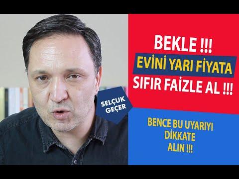 BEKLE EVİNİ YARI FİYATA SIFIR FAİZLE AL !!!
