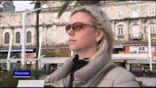 Новости 1 канала Хорватского телевидения, HRT 1 Dnevnik 09.02.16, русские туристы в Хорватии(, 2016-02-09T21:05:15.000Z)