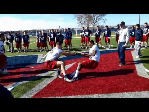 Maritime Football Spring Highlight 2015